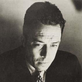 Albert Camus, author of 'L'Etranger'